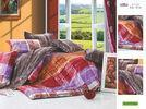 Patterned Printed Decorative Plum Full Size 100 Cotton Personalized Bed Sheet Set Manufactures