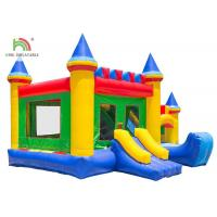 China Colorful Toddler Infltable Jumping House Oxford Fabric Double - Triple Stitching on sale
