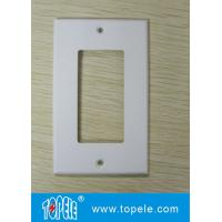 One Gang /Two Gang Plastic Decorative Duplex GFCI Receptacles Wallplate Manufactures