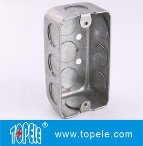 TOPELE 58351 / 58361 / 58371 Galvanized Steel Box Rectangular Handy Box Utility Box Manufactures