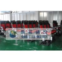 4D Motion Movie Theater Chair With Hydraulic Control System Manufactures