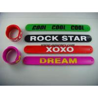 China Wholesale Color ful  Silicone Stylus Touch Pen Silicone Slap Bracelet Band on sale