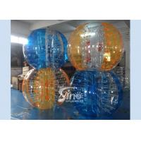 Colorful kids N adults interaction inflatable bubble ball with quality harness from Sino inflatables Manufactures