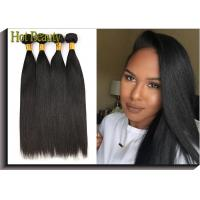 China 6A Original Virgin  Human Hair  Straight , Cut From Young Lady 's Head wholesale