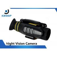 Monocular Night Vision Body Camera 4X Magnification 1700mAh Lithium Battery Manufactures