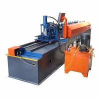 Easy Operate Metal Stud And Track Roll Forming Machine For Multi Profiles 30-40m/Min Manufactures