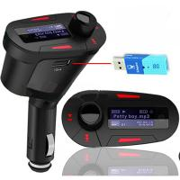New Car MP3 Player Wireless FM Transmitter With USB SD MMC Slot Manufactures