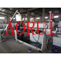 LDPE Film Plastic Granules Machine , Water Ring Cold Cutting Granulate Extruder Manufactures