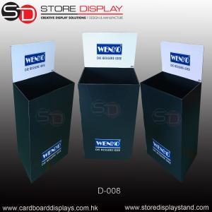 Customize FSDU Corrugated cardboard Dump bin stand Manufactures
