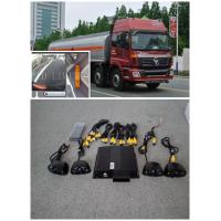 Quality OEM 360 ° Around View Lorry Cameras System monitor With 4 channel HD DVR, for sale