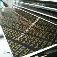 Cheap price black film faced plywood, black shuttering film faced plywood with brand logo, phenolic plywood Manufactures