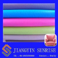Colorful Soft Sofa Leather Fabric No Smell Corner Sofa Faux Leather For Protective Manufactures