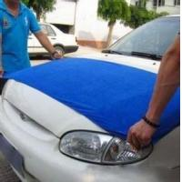 big 60 * 160 cm Microfiber Car Cleaning waxing wash towel cleaning cloth super absorbent Manufactures