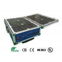 China Lifepo4 12V 60AH Storage Battery Systems With Solar Panel For Portable UPS on sale