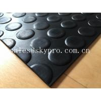 Heavy duty Flooring / gasket 2.5mm - 20mm Rubber Sheet Roll Smooth / embossed Surface Manufactures