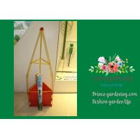 Tall Colored Tomato Plant Stakes , Plastic Tomato Support Cages