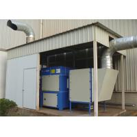 Compact Structure Plasma Fume Extractor ISO9001 OHSAS18000 Certification Manufactures