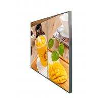 55 Inch HD Display Network LCD Advertising Screen For Hotel CE UL FCC SGS Manufactures