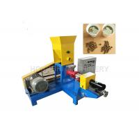 China 0.4KW Cutting Power Floating Fish Pellet Machine Powder Raw Material Type on sale