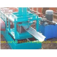 Durable Seamless Gutter Machine , Water Gutter Making Equipment Former Line Manufactures