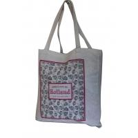 Natural color 10az cotton Eco shopping bags personized printing Tote bag Manufactures