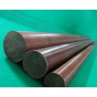 ISO9011 Standard Phenolic Cotton Rod 10-200mm OD For High Voltage Application Manufactures