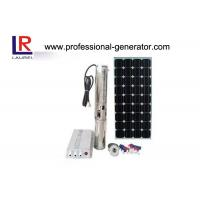 DC48V Solar Water Pump 3HP Solar Submersible Pumps Manufactures