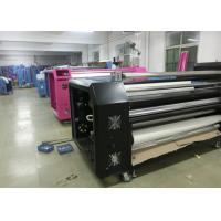 Cylinder Rotary Heat Transfer Machine Roll Transfer For Fabric Manufactures