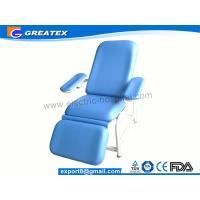 Hospital Adjustable Patient Reclining Simple Blood Donation Chair With IV Pole (GT-BC203) Manufactures