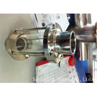 ASTM A270 Sanitary Stainless Steel 304 Fittings Sight Glass For Chemical Industries Manufactures