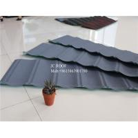 Original Stone Coated Roofing Tiles , Steel Stone Coated Metal Roof Tile Manufactures