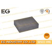Heat Resistance Carbon Graphite Products Custom Made With Grain Size 0.8mm Manufactures