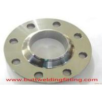 Nickel8020 Alloy Forged Steel Flanges / Weld Neck Flange Class 600  4