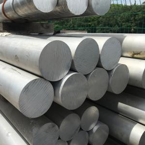 China Professional  6063 T5 Aluminum Round Stock , Aluminium Solid Bar 170 Yield on sale