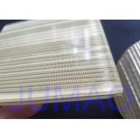 Wire Glass Metal Laminated Mesh Fabric With Brass Material As Inner Layer Manufactures
