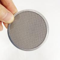 Custom Wire Mesh Filter Disc Framed / Leaf / Perforated / Pleated / Sintered