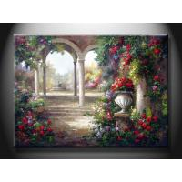 DZH1232 Custom Cheap Indoor  Paint Scenery Oil Painting for Apartment / Hoese Manufactures