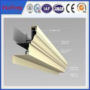 Aluminum thermal break window supplier, aluminium windows with mosquito net Manufactures