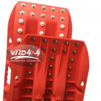 New Design Off-road PP recovery sand track sand plate with Steel Nails 6.5 thickness capacity 10T Manufactures