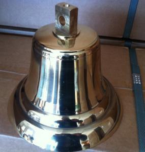 SOLAS ship's brass bell,marine fog brass bell Manufactures