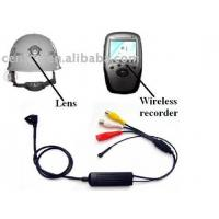 China Wireless Hidden Helmet CCD Camera with Recorder (CS-M110) on sale