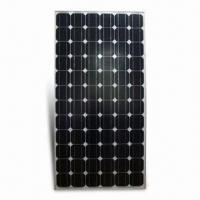 72-piece Solar Panel Module with 185W Maximum Power, Made of Monocrystalline Silicone Cell Manufactures
