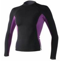 Women's Long Sleeve Lycra Rash Guard UV 50 Compression Swimming Suit Top T-shirt Manufactures