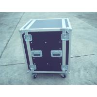 Silver / Black Rack Flight Case 28U 9mm Plywood With Pop Rivet Structure Manufactures