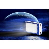Buy cheap Shock / Dust Resistant Electroluminescent Products Dual USB Solar Mobile Power Supply from wholesalers