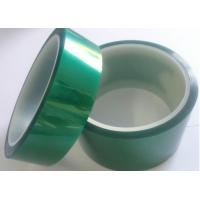 China PET film Dark Green High Temperature Resistant Tape Masking Insulation No Printing on sale