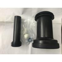 PVC Material Straight Toilet Connector , Embedded Toilet Waste Fittings Manufactures