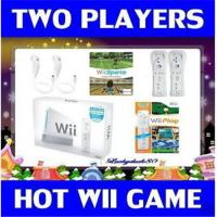 1 NEW WII NINTENDO GAME CONSOLE SYSTEM 2 CONTRS W/GAMES Manufactures