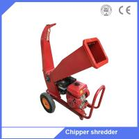 Petrol gas power type chipper shredder machine tree branches chipper Manufactures