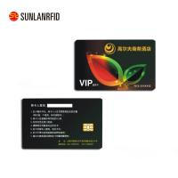 Colorful PVC contact IC card portable contactless smart card with chip Manufactures